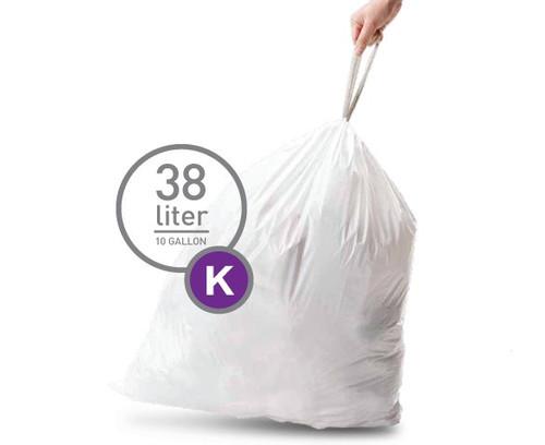 Simplehuman Waste Bag Code K - 38 Liter (20 pieces) Main Image