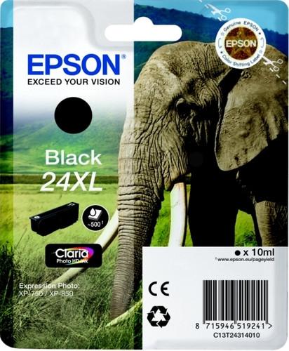 Epson 24 XL Inktcartridge Zwart C13T24314010 Main Image