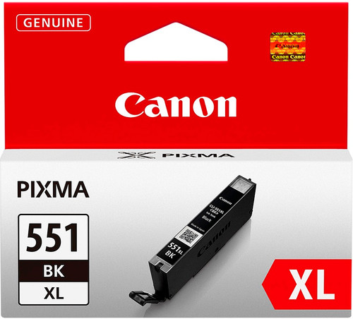 Canon CLI-551BK XL Inktcartridge Zwart (6443B001) Main Image