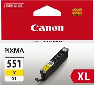 Canon CLI-551Y XL Ink cartridge Yellow (6446B001) Main Image