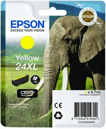 Epson 24 XL Ink Cartridge Yellow C13T24344010 Main Image