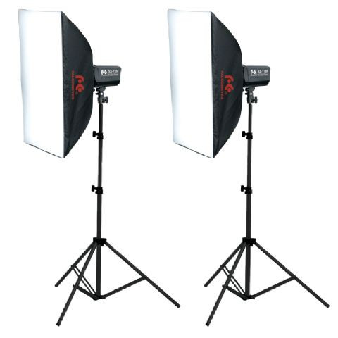 Falcon Eyes Studio Flash Set SSK-2200D Main Image