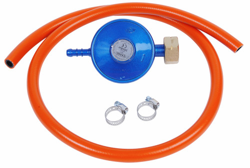 Cadac Gas Pressure Regulator and Hose DIN 30mBar Main Image