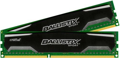 Crucial Ballistix Sport 16GB DIMM DDR3-1600 2x8GB Main Image