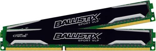 Crucial Ballistix Sport VLP 8GB DDR3 DIMM 1600MHz (2x4GB) Main Image