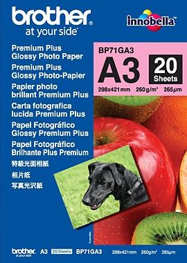 Brother Premium Plus Fotopapier 20 vel A3 (260 gr/m2) Main Image