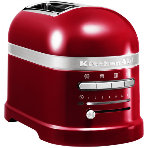 KitchenAid Artisan Toaster Apple Red 2 slots Main Image