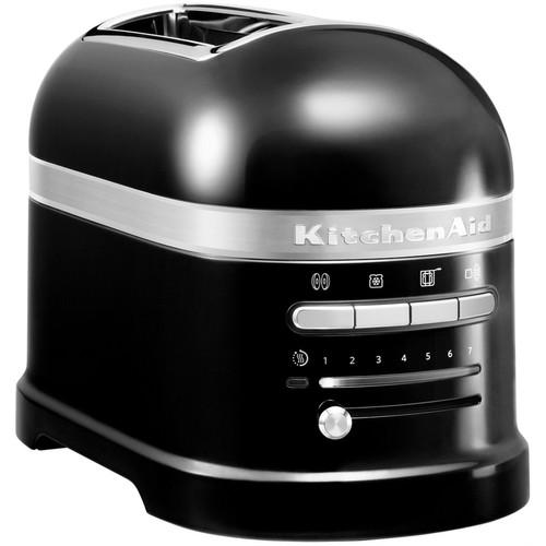 KitchenAid Artisan Toaster Onyx Black 2 slots Main Image