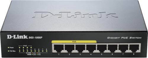 D-Link DGS-1008P Main Image