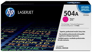 HP 504A LaserJet Toner Magenta (CE253A) Main Image