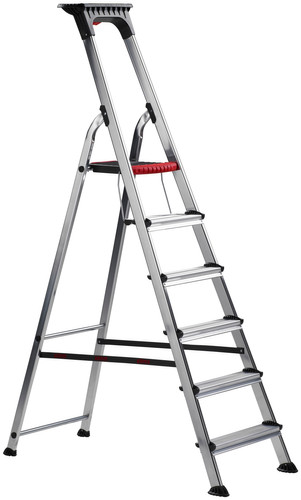 Altrex Double Decker Household Ladder 6 steps Main Image