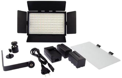 Falcon Eyes LED Lamp Set Dimbaar DV-384CT-K2 Main Image