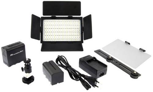 Falcon Eyes LED Lamp Set Dimbaar DV-216VC-K2 incl. Accu Main Image