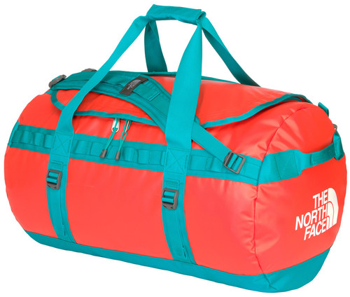 The North Face Base Camp Duffel M Fire Brick Red Main Image