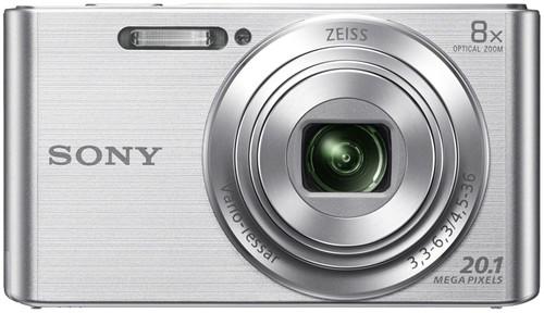 Sony CyberShot DSC-W830 Silver Main Image