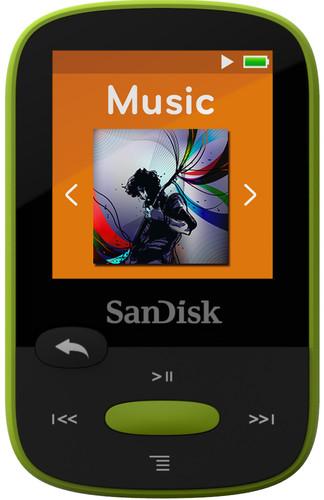 Sandisk Sansa Clip Sports 8GB limoen Main Image