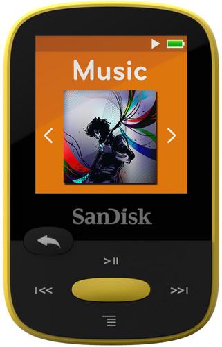Sandisk Sansa Clip Sports 8GB geel Main Image
