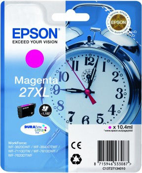 Epson 27XL Cartridge Magenta C13T27134010 Main Image