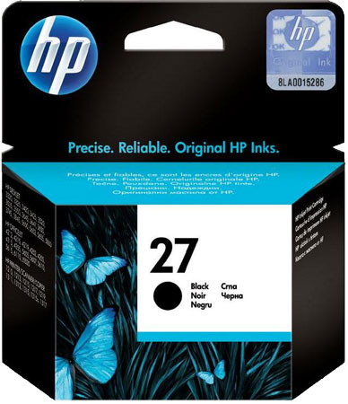 HP 27 Cartridge Black (C8727AE) Main Image