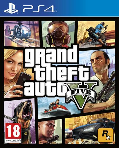 Grand Theft Auto V (GTA 5) PS4 Main Image