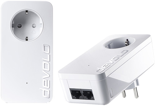 Devolo dLAN 550 Duo+ Geen WiFi 500 Mbps 2 adapters Main Image