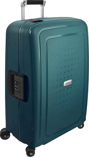 08aa6a8498d Samsonite S'Cure DLX Spinner 69cm Metallic Green - Coolblue - Before ...
