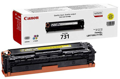 Canon 731Y Toner Yellow Main Image