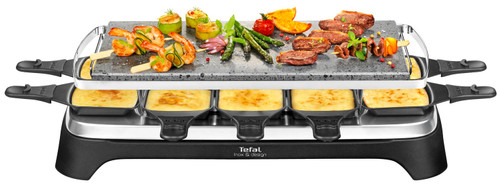 Tefal Stone grill 10 Inox & Design Main Image
