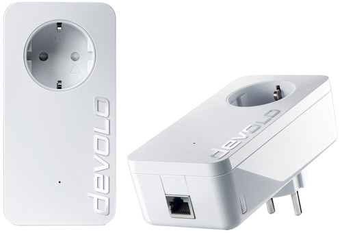 Devolo dLAN 1200+ No WiFi 1,200Mbps 2 adapters Main Image