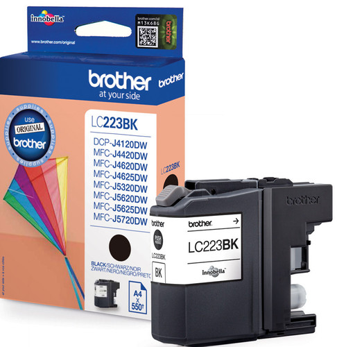 Brother LC-223BK Cartridge Zwart Main Image