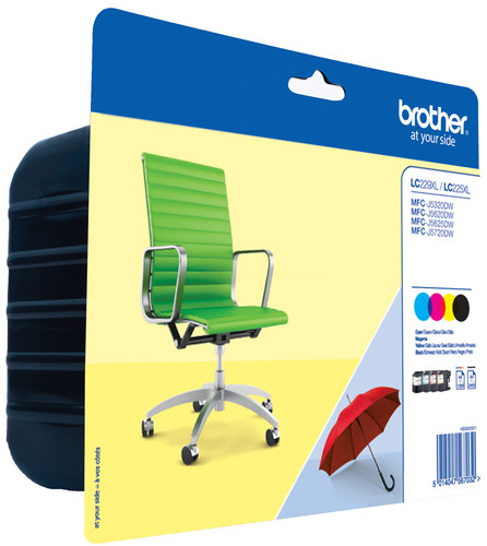 Brother LC-229XLVAL 4-Color Pack XL Main Image