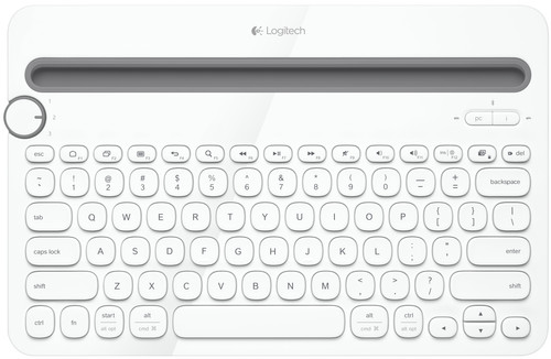 Logitech Multi Device Keyboard K480 White QWERTY Main Image