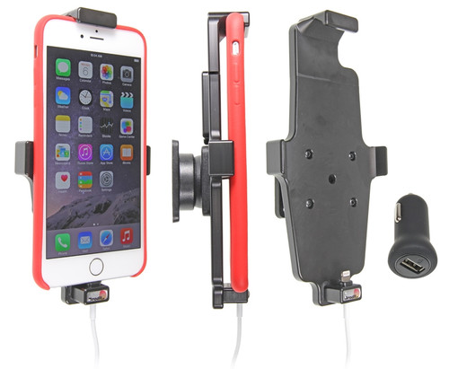 separation shoes 812ec 85153 Brodit Mount Apple iPhone 6 Plus/6s Plus/7 Plus/8 Plus with Charger