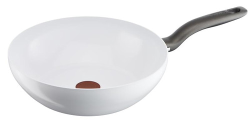 Tefal Ceramic Control Induction Wok 28cm White Main Image