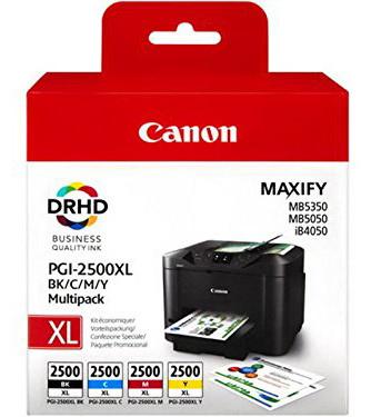 Canon PGI-2500XL 4-Kleuren Pack (9254B004) Main Image