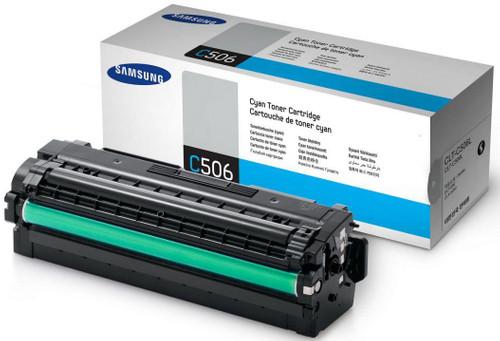 Samsung CLT-C506L Toner Cyan XL Main Image