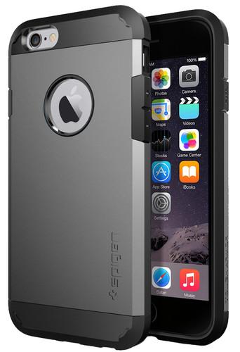 Spigen Tough Armor Apple iPhone 6 Grijs Main Image