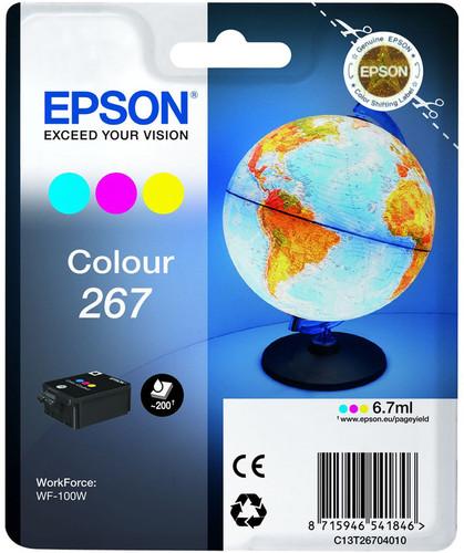 Epson 267 3-Kleuren Pack (C13T26704010) Main Image