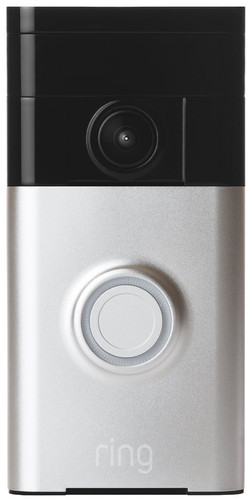 Ring Video Doorbell Gray with installation Main Image