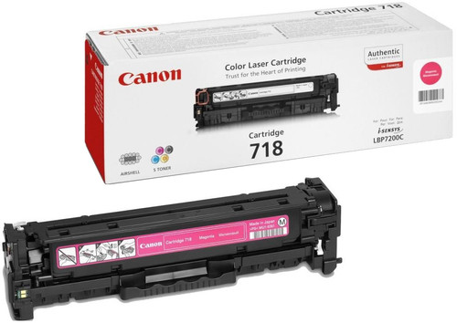 Canon CRG-718 Toner Magenta Main Image