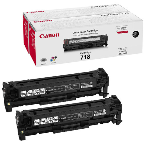 Canon CRG-718 Toner Black XL (2662B005) Main Image