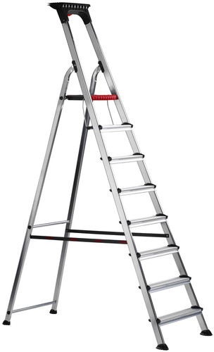 Altrex Double Decker Household Ladder 8 steps Main Image