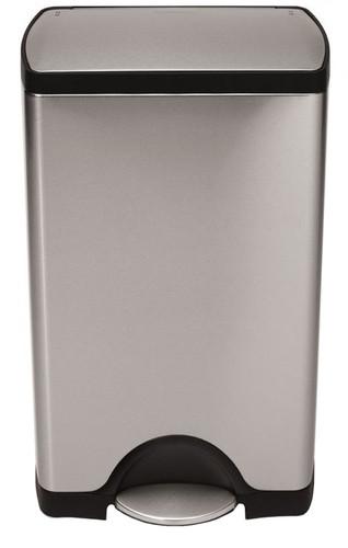 Simplehuman Rectangular Classic 38 Liter Stainless Steel Matte Main Image