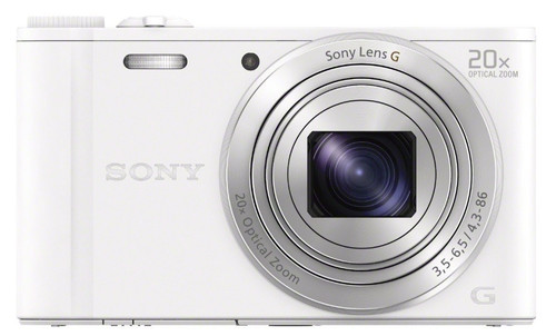 Sony CyberShot DSC-WX350 White Main Image