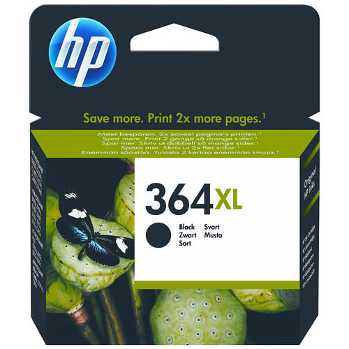 HP 364XL Cartridge Black (CN684EE) Main Image