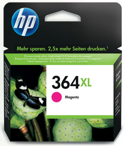 HP 364XL Cartridge Magenta (CB324EE) Main Image