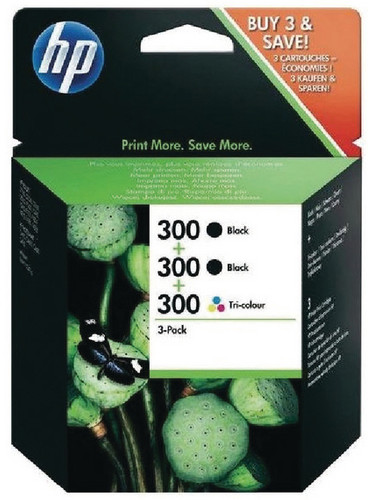 HP 300 Combo Pack 4-Color (SD518AE) Main Image