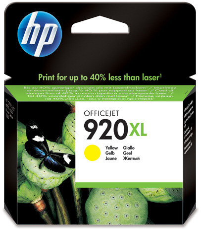 HP 920XL Cartridge Yellow (CD974AE) Main Image