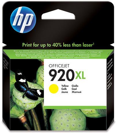 HP 920XL Cartridge Geel (CD974AE) Main Image