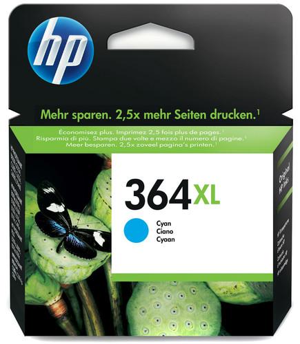 HP 364XL Cartridge Cyaan (CB323EE) Main Image